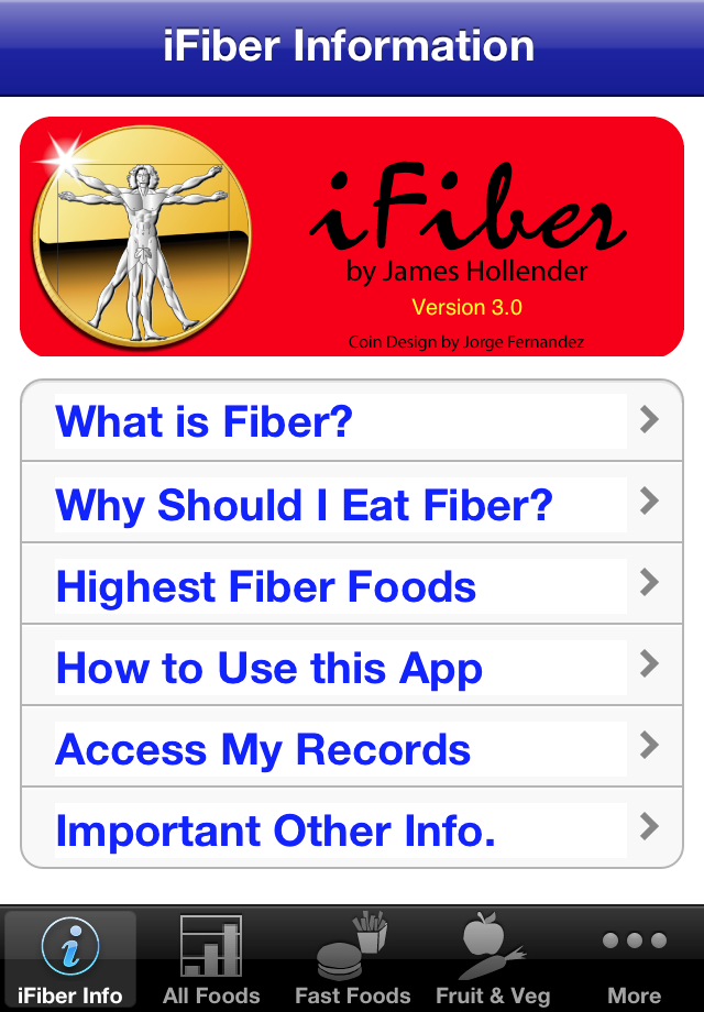How the iFiber iOS App Can Help You Lose Weight - New Version 6.0 Image